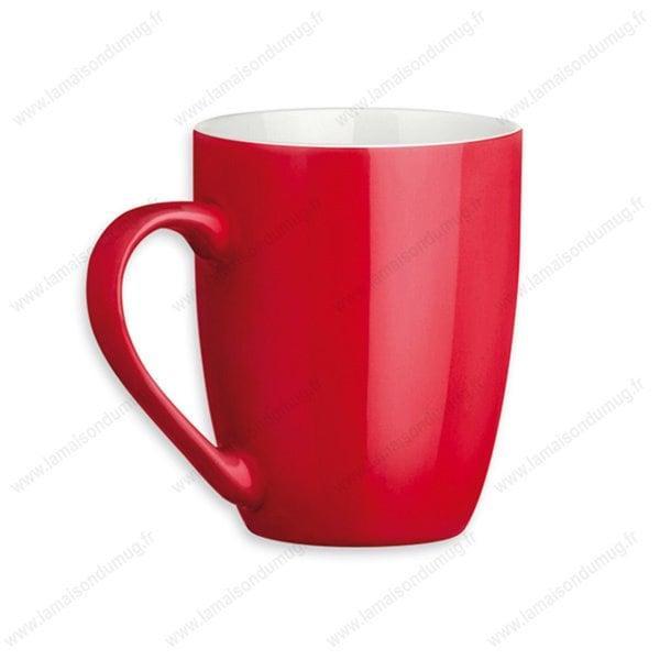 mug personnalisé sandy rouge