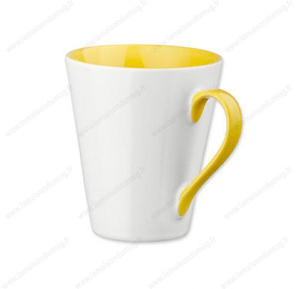 mug-personnalisé-marie-jaune