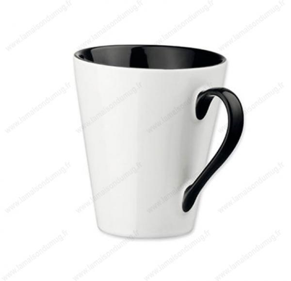 mug personnalisé marie noir