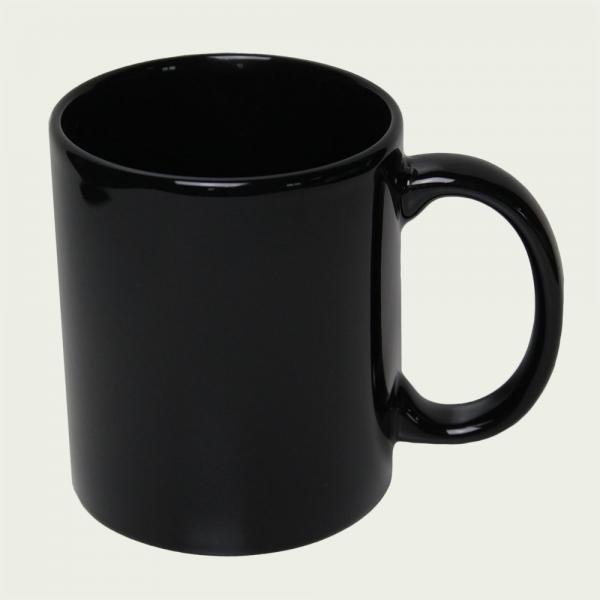 mug personnalisé cool noir
