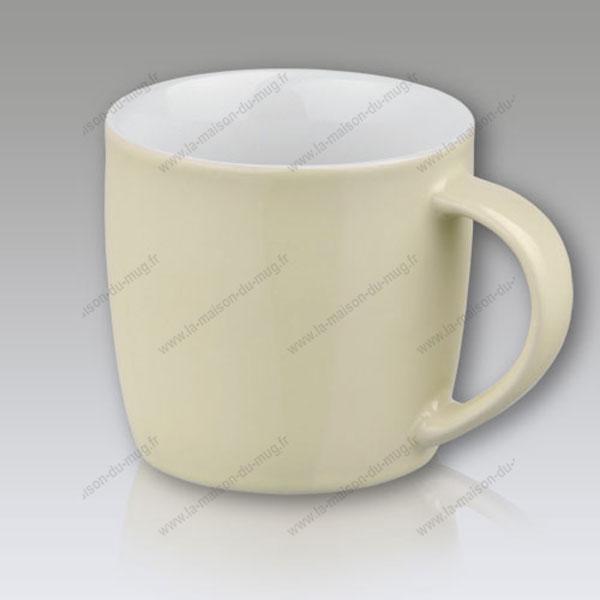 mug personnalisé gift beige