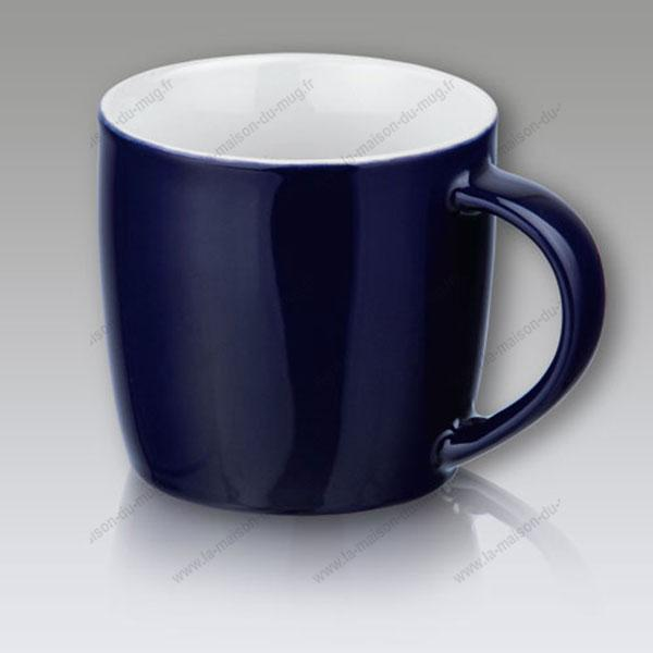 mug personnalisé gift bleu marine