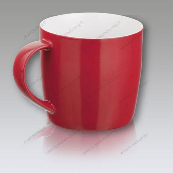 mug personnalisé gift rouge