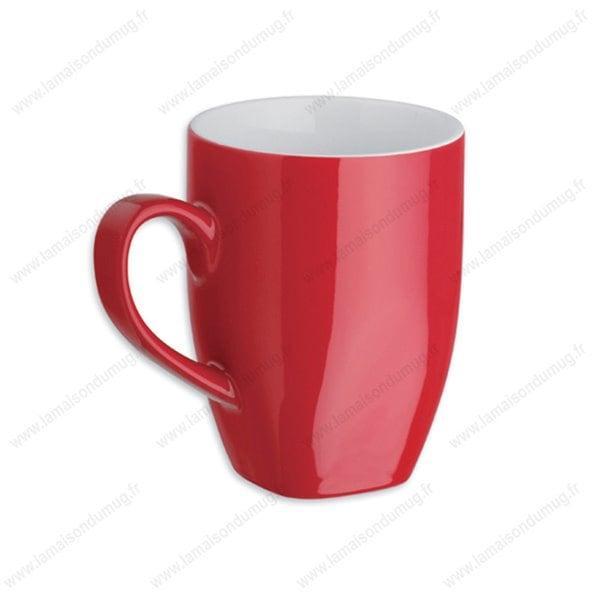 mug personnalisé maxi rouge