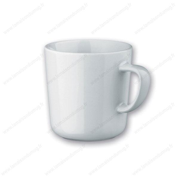 mug publicitaire rosasse blanc