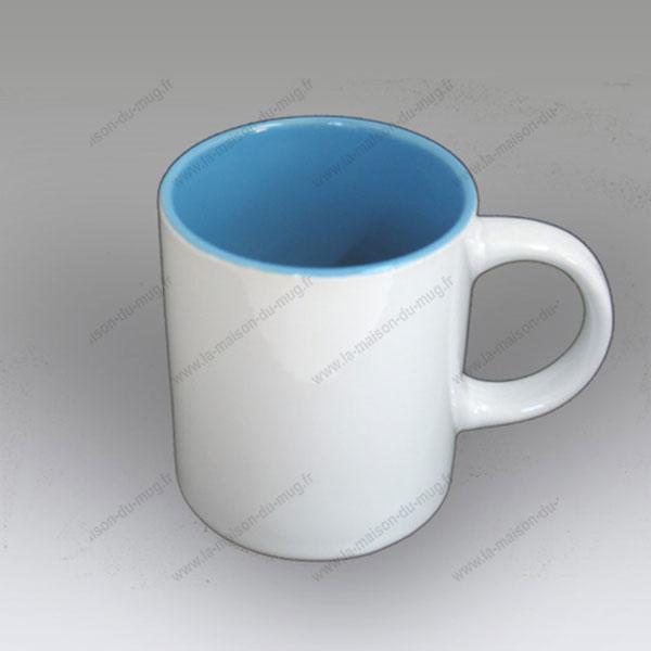 mug personnalisé rica bleu